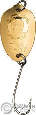 BUEL SPOON Legendary Lures Gold Coin 20$ Cook Islands 2020
