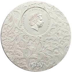 CIT 2018 Little Secrets 2oz Silver High Relief Coin $10 Cook Islands