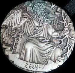 COOK ISLAND 4 x 2oz Silver $2 GODS OF OLYMPUS Antiqued Part 1