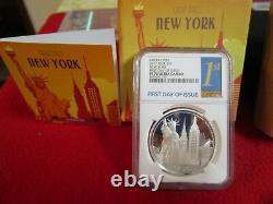 Coin Lot Cook Islands & Niue New York City PCGS NGC PR PF 70 3 ounces of Silver