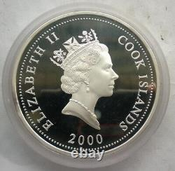 Cook 2000 Solar System 10 Dollars 10oz Colour Silver Coin, Proof