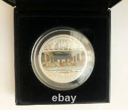 Cook 2008 Masterpieces of Art LEONARDO DA VINCI LAST SUPPER 3oz Silver Coin 1