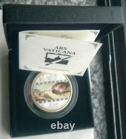 Cook 2008 Michelangelo 20 Dollars 3oz Silver Coin, Matte, BU