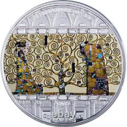 Cook 2018 20$ Masterpieces Of Art TREE OF LIFE Gustav Klimt Silver Coin 33