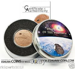 Cook Island 2009 5$ 400 Year of the Observation of Mars NGC PF68 MATTE