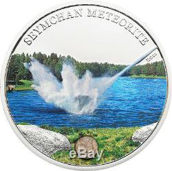 Cook Island 2012 5$ Seymchan Meteorite
