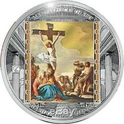 Cook Island 2018 $20 Good Friday Masterpieces of Art Easter Ed. 3oz silver Proof