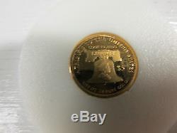 Cook Islands 1/10 oz. 24kt gold $5 Gold Coin