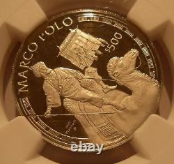 Cook Islands 1995 Platinum $500 NGC PF69UC Marco Polo Mintage 1000