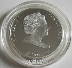 Cook Islands 20 Dollars 2010 Masterpieces of Art Carlo Maratta 3 Oz Silver