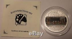 Cook Islands 20 $ Masterpieces of Art 2008 Leonardo da Vinci The last Supper