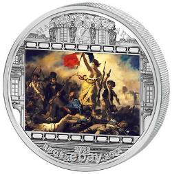 Cook Islands 20 $ Masterpieces of Art 2013 Delacroix Liberty Leading People