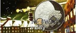 Cook Islands 2008 5$ Comet PULTUSK Proof Silver Coin Real Meteorite Insert