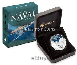 Cook Islands 2010 2011 Famous Naval Sea Battles 5 Coin Set $1 Silver Color Proof