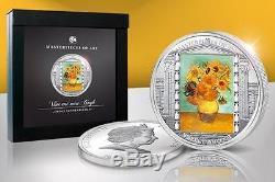 Cook Islands 2011 20$ Masterpieces of Art Vincent van Gogh 3 Oz Silver Coin