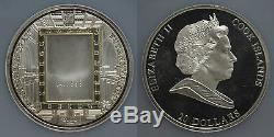 Cook Islands 2011 20$ Tutanchamun Premium Masterpieces Art Gold Silver Coin NGC