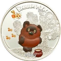 Cook Islands 2011 $5 Cartoon Winnie Pooh Winnie 1 Oz Silver Coin LIMIT 2000!!!