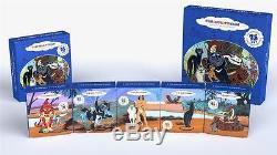 Cook Islands 2011 5 x 5$ Adventure of Mowgli Cartoon Set 5 x 1oz Silver