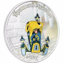 Cook Islands 2011 5x5$ Town Musicians of Bremen 5x1 Oz Limited Silver Coins Set