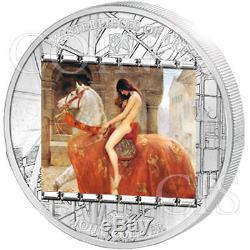 Cook Islands 2013 20$ Lady Godiva John Collier MoA 3oz Proof Silver Coin