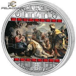 Cook Islands 2013 20$ Masterpieces of Art Niccolo Bambini Adoration of Kings 3oz