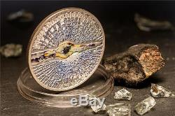 Cook Islands 2013 5$ METEORITE CHELYABINSK Russia Silver Coin Real Meteorite pcs