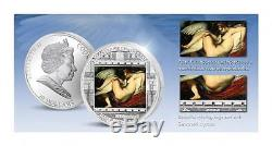 Cook Islands 2014 $20 Masterpieces of Art Rubens Leda and Swan 3oz Silver Coin