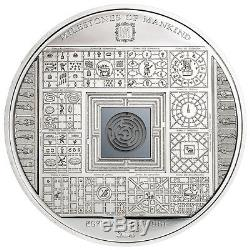 Cook Islands 2016 10$ Milestones of Mankind Egyptian Labyrinth 50g Silver Coin