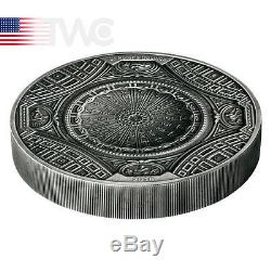 Cook Islands 2016 20$ 4 Layer St Peters Basilica 100g Antique finish Silver Coin