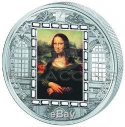 Cook Islands 2016 20$ Masterpieces of Art Leonardo da Vinci Mona Lisa 3oz