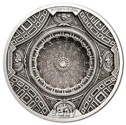 Cook Islands 2016 20$ Temple of Heaven St Peters Basilica 4 Layer 100g Silver