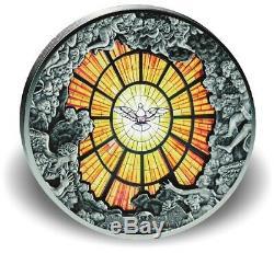 Cook Islands 2016 40$ Windows of Heaven Gigant Basilica of St. Peter 10oz