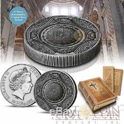 Cook Islands 2016 ST PETERS BASILICA 4 Layer $20 Silver coin 100g after Temple