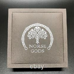 Cook Islands 2016 The Norse Gods Heimdall 2 oz Antique Finish Silver Coin