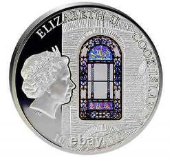 Cook Islands 2016 Windows Of Heaven Hagia Sophia Istanbul Silver Coin 18
