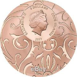 Cook Islands 2017 $5x3 Scarab 3 Oz Silver Proof Coin Set