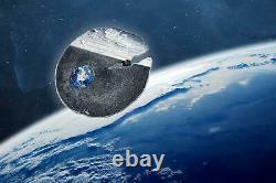 Cook Islands 2019 2$ Estacado Meteorite 2019 1/2 Oz Silbermünze