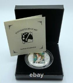 Cook Islands 2019 Masterpieces of Art Renoir/Girl Bathing Silver Proof Coin