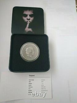 Cook Islands 2019 TRAPPED 1 Oz Silver Coin 5$