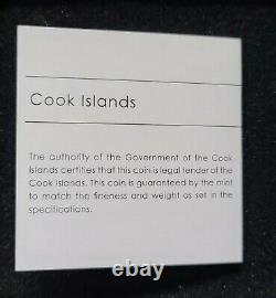 Cook Islands (2019) Trapped 1oz silver coin (5 NZ$)