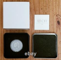 Cook Islands 2020 $5 Silver Coin Still Trapped Antiqued