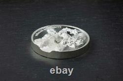 Cook Islands 2020 5$ Vinales Meteorite 1 Oz ULTRA HIGH RELIEF Proof Silver Coin