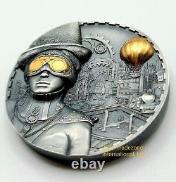 Cook Islands 2020 Steampunk Silver Coin UHR a Key 2020 Release