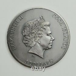 Cook Islands 2021 Trapped Series Trap Attack Silver Coin
