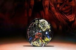 Cook Islands 2022 5$ IRON MAIDEN-The Number Of The Beast 1 Oz silver coin