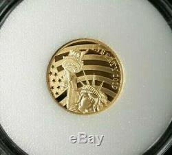 Cook Islands $5.00 1/10 oz 24% Gold Proof Struck Coin