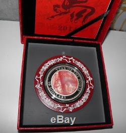 Cook Islands 50$ 2014 Year of the Horse 5oz Mother of Pearl
