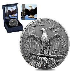 Cook Islands, High Relief Bald Eagle (2018) 1oz silver coin