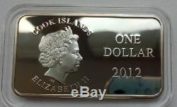 Cook Islands SET 3 x 1 dollar 2012 Lunar Year of the Dragon Silver 2
