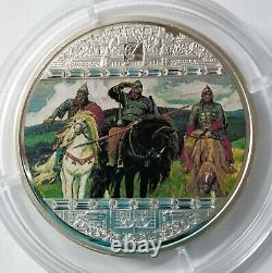 Cook islands 20 dollar 2010 Masterpieces of Art Vasnetsov 3 Oz Silver